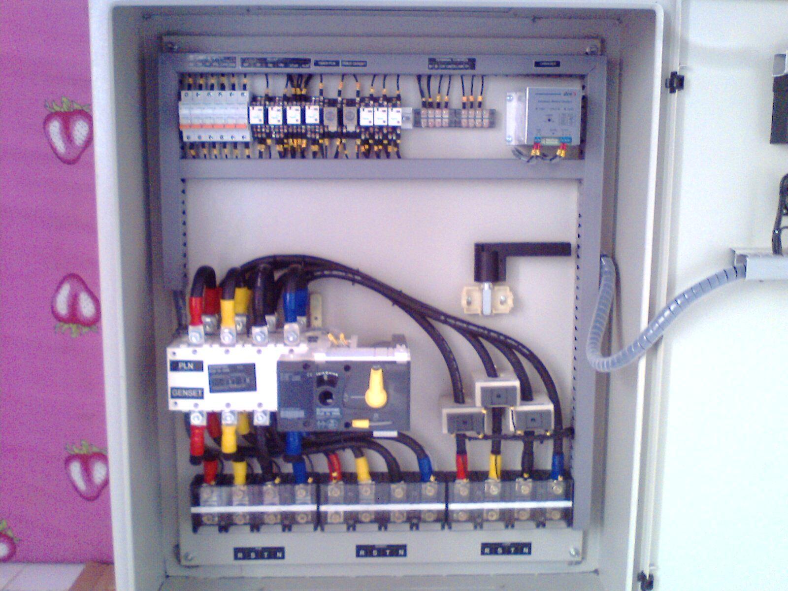 Wiring Ats Genset Diagram For Professional Panel Dan Amf Control Circuit Rh Esecrete Eu Generator Transfer